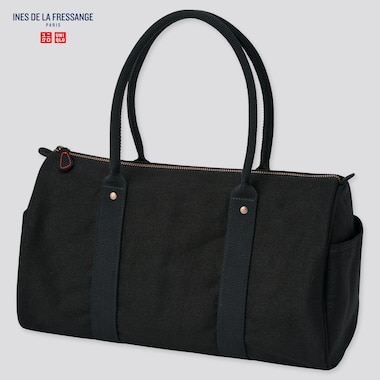 WOMEN Ines Canvas Boston Bag