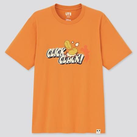 Herren Mickey Motifs UT Bedrucktes T-Shirt