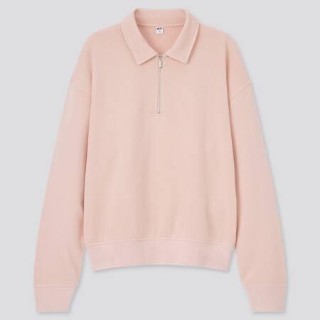 Damen Sweatshirt mit Reißverschluss