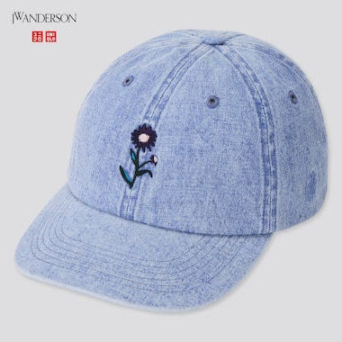 Washed Cotton Cap (Jw Anderson), Blue, Medium