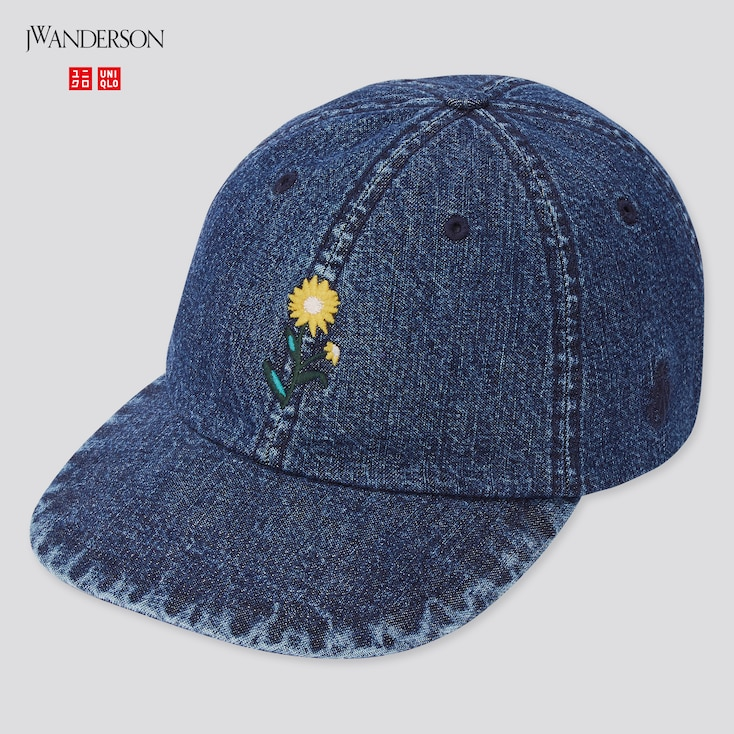 Washed Cotton Cap (Jw Anderson), Blue, Large