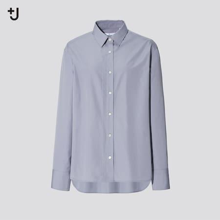 Women +J Supima Cotton Loose Fit Shirt