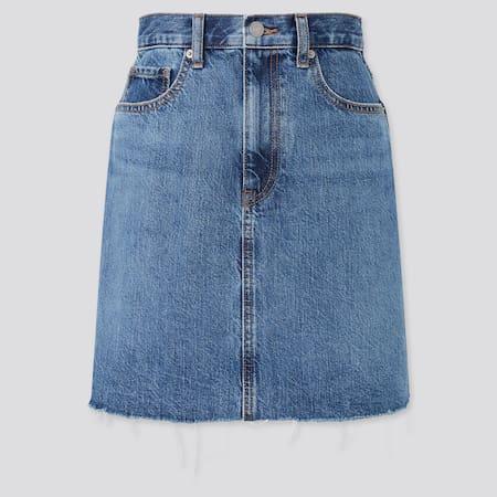 Minifalda Vaquera Mujer