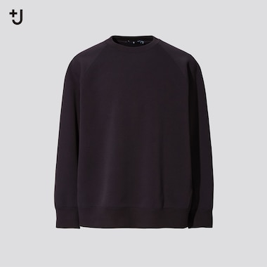 Men +J Dry Sweatshirt, Black, Medium
