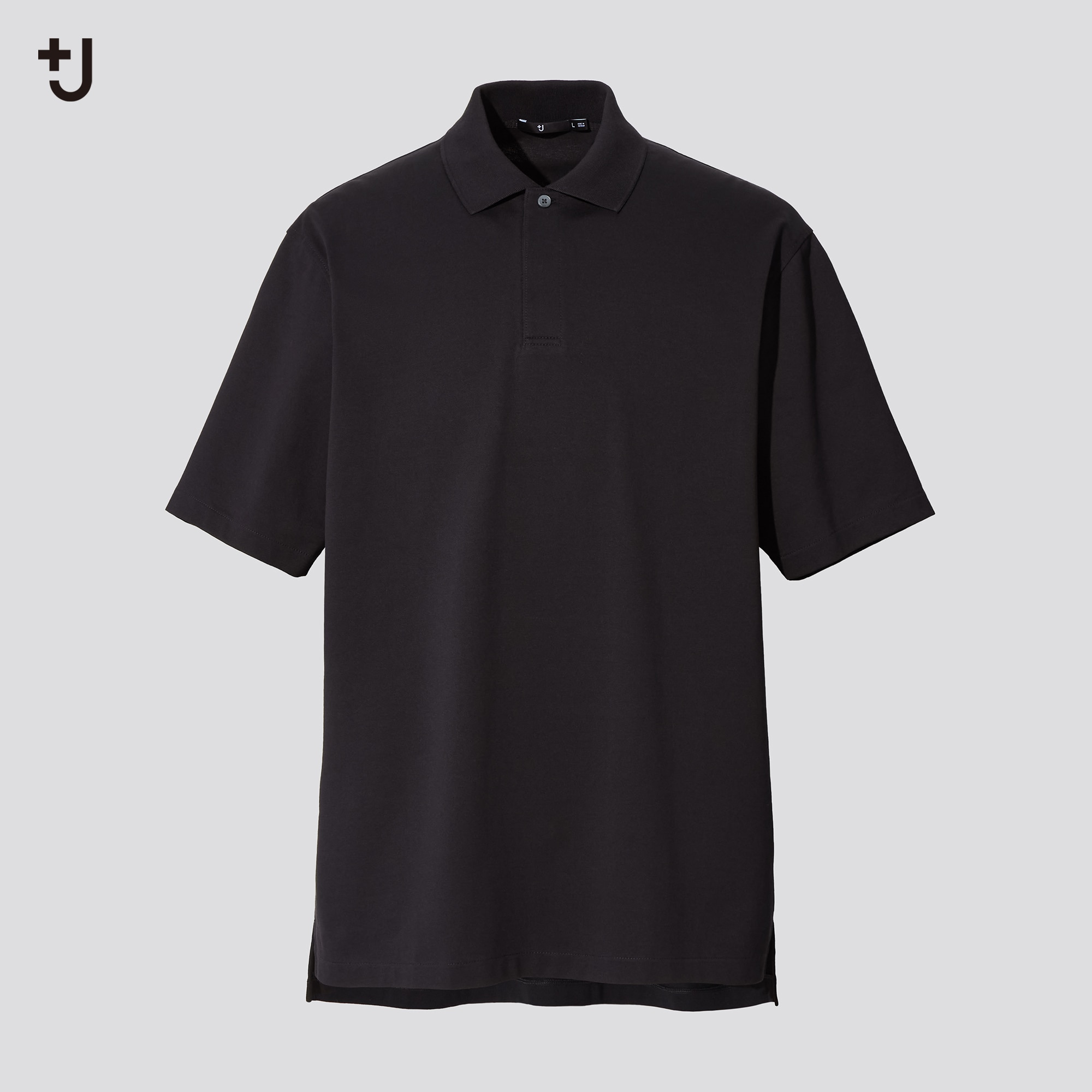 MEN +J RELAXED FIT SHORT-SLEEVE POLO SHIRT