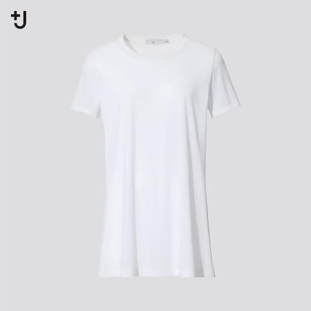 T-Shirt +J Cotone Supima Girocollo Donna