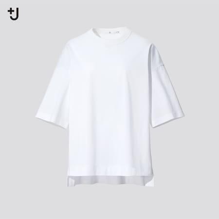 Mujer +J Camiseta Algodón Supima Ancha