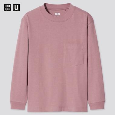 T-shirt Uniqlo U Manches Longues Enfant