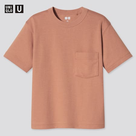T-Shirt Uniqlo U AIRism Cotone Girocollo Bambino