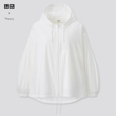 Women Theory UV Protection Oversized Pocketable Parka