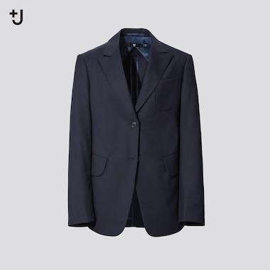 Women +J Wool Tailored Blazer Jacket