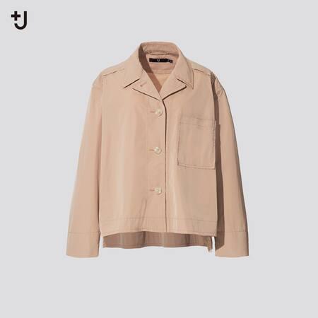 Women +J Loose Fit Shirt Jacket