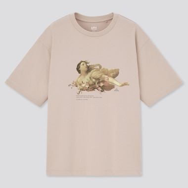 Women Louvre Museum UT Graphic T-Shirt
