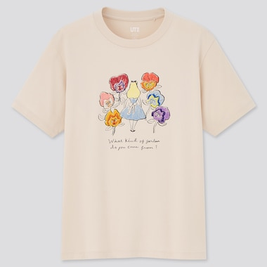 Women Alice in Wonderland UT Graphic T-Shirt