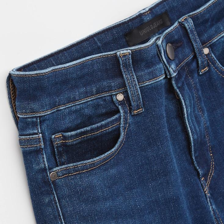 Women Ultra Stretch Jeans, Black, Large
