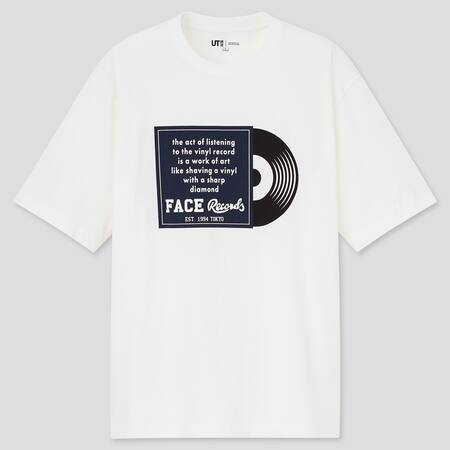 Men The Brands World of Record Stores UT Graphic T-Shirt