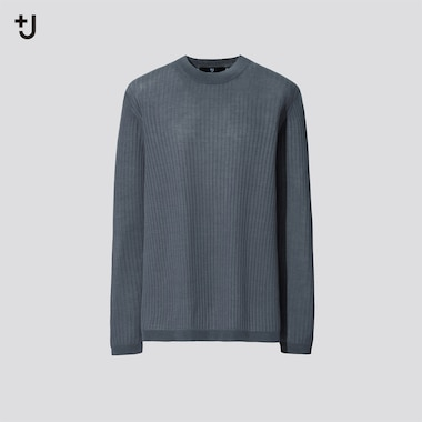Women +J Sheer Wide Ribbed Jumper