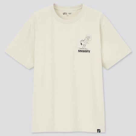 Men Peanuts Vintage UT Graphic T-Shirt