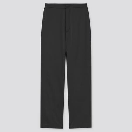 Damen Relaxed Satin Hose (Straight Fit)