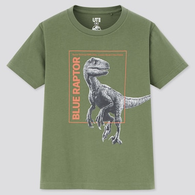 T-Shirt Graphique UT Jurassic World Enfant