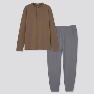 Men Ultra Stretch Long Sleeved T-Shirt Set
