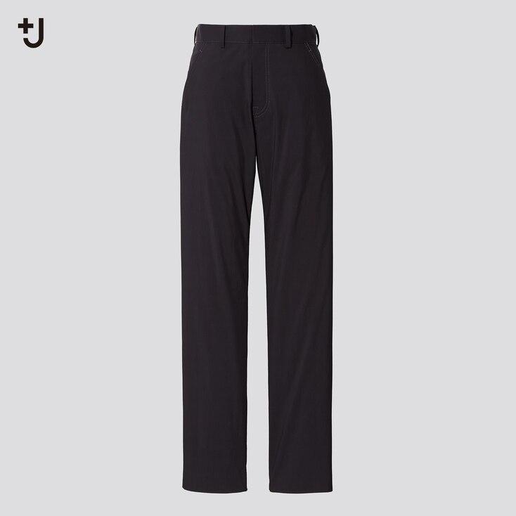 Women +J Straight Pants, Black, Large