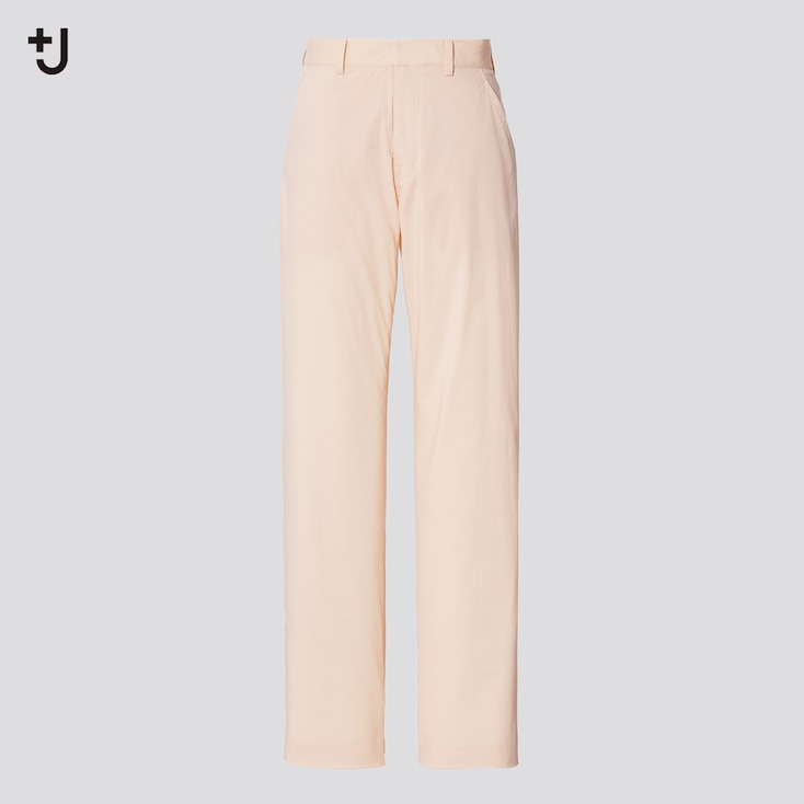 Women +J Straight Pants, Natural, Large
