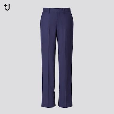 Damen +J Hose aus 100% Wolle (Slim Fit)