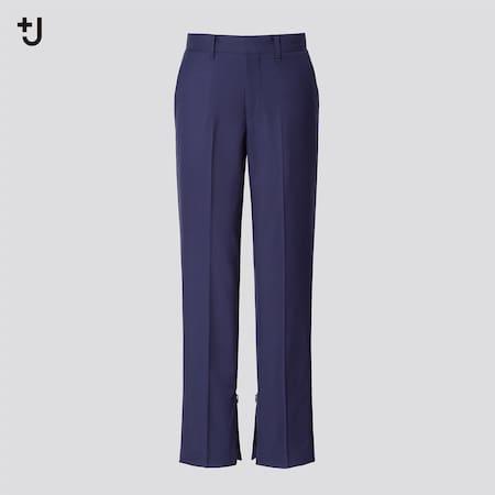 Mujer +J Pantalón Lana Slim Fit