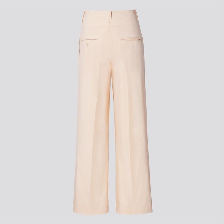 Women +J Wide Pants, Natural, Large