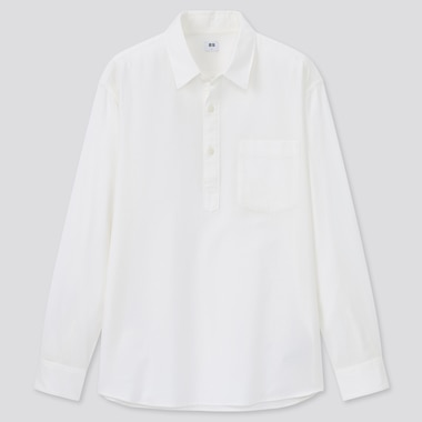 Men Soft Twill Pullover Shirt