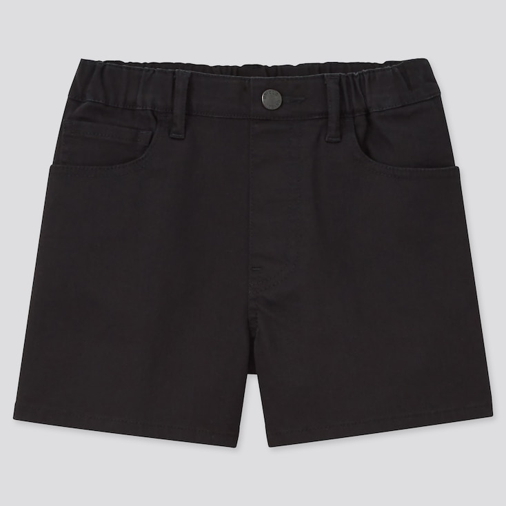Girls Easy Shorts (Online Exclusive), Black, Large