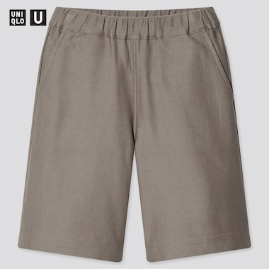 Kids U Jersey Shorts, Brown, Medium