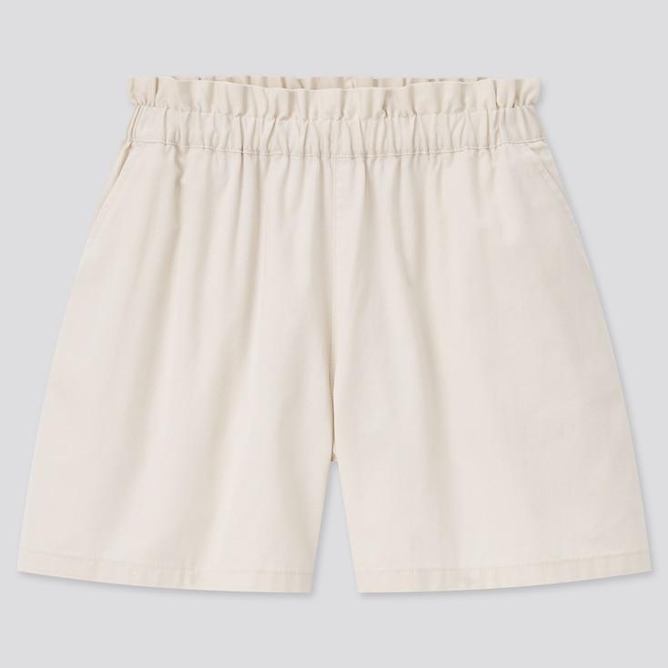 Girls Easy Shorts, Natural, Large