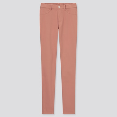 Women Ultra Stretch Leggings Pants (Online Exclusive), Pink, Medium