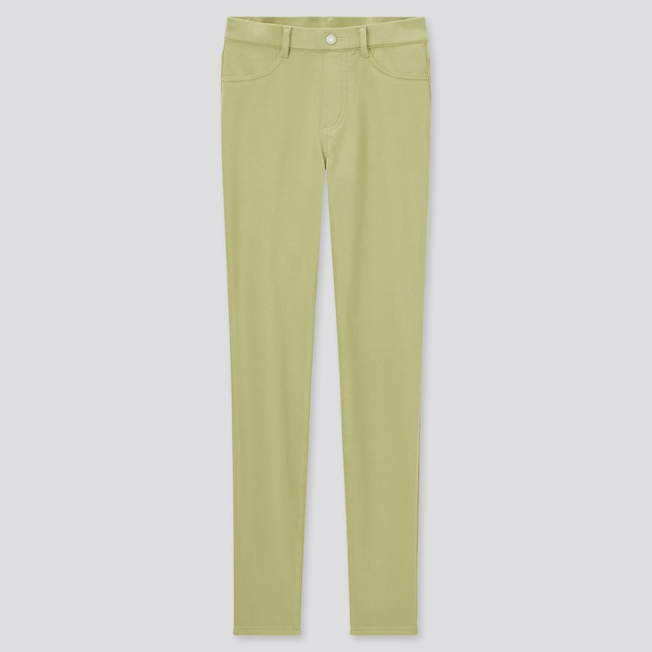 Women Ultra Stretch Leggings Pants (Online Exclusive), Green, Large