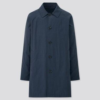 Men Pocketable Half Length Coat