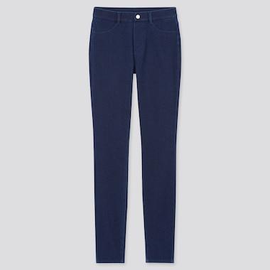 Women Ultra Stretch Denim Leggings Pants (Tall) (Online Exclusive), Blue, Medium