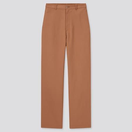 Damen Straight Leinenmix Hose (Relaxed Fit, lang)