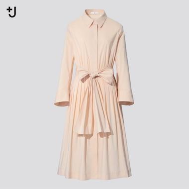 Robe Chemise +J Manches Longues Femme