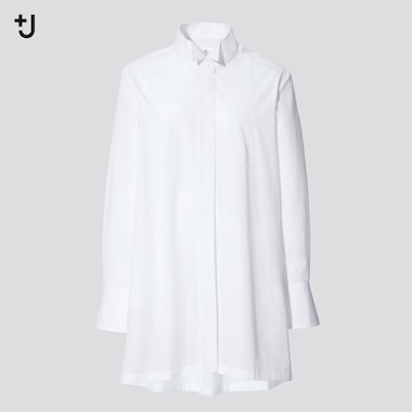 Women +J Supima Cotton Longline Shirt