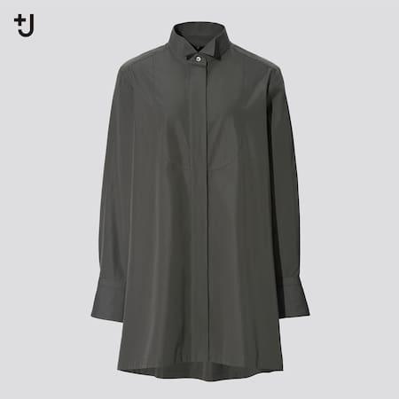 Women +J Supima Cotton Longline Shirt