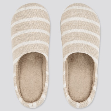 Striped Slippers (Rubber Sole)