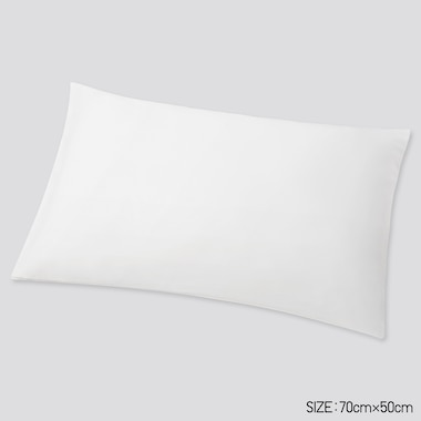 Airism Standard-Size Pillowcase, White, Medium