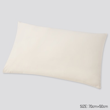 Airism Standard Pillowcase, Natural, Medium
