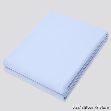 Airism Queen Size Duvet Cover, Light Blue, Medium