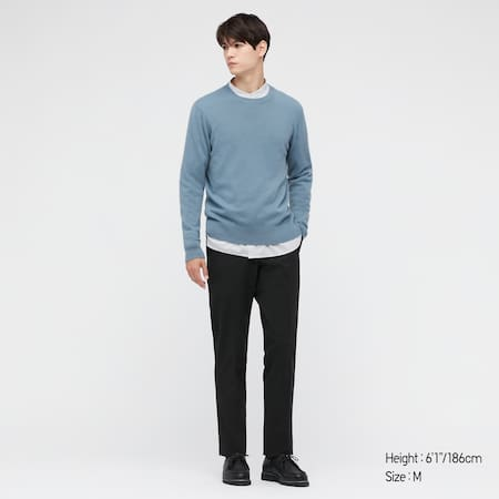 Pull 100 % Cachemire Col Rond Homme