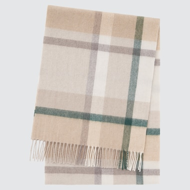 CASHMERE CHECKED SCARF