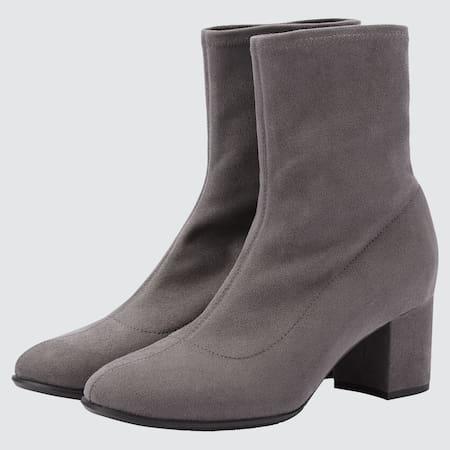 Damen Kurze Stretch Stiefel