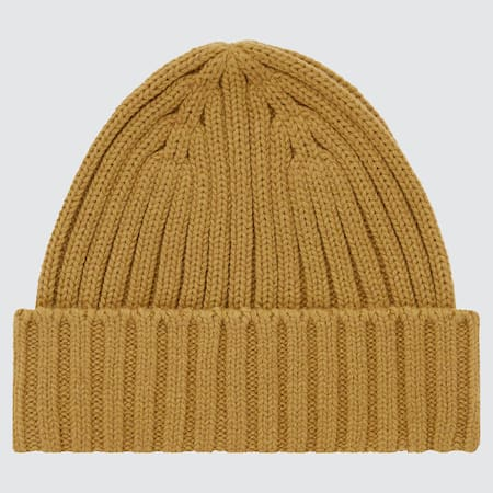 HEATTECH Ribbed Beanie Hat